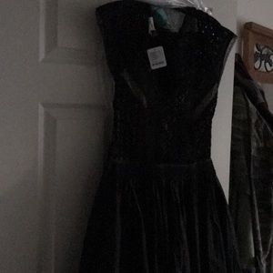 Brand new black free people dress